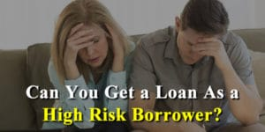 High Risk Auto Loans