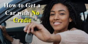 no credit check auto loan