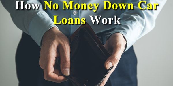no money down car loans