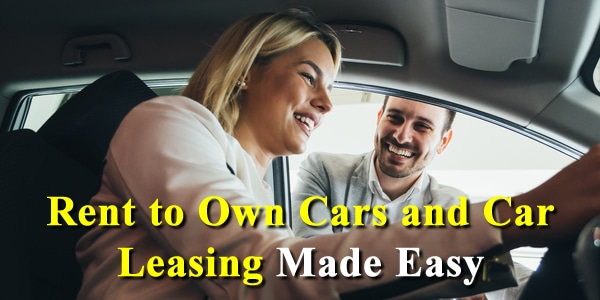 rent to own cars and car leasing