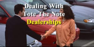 tote the note car lots